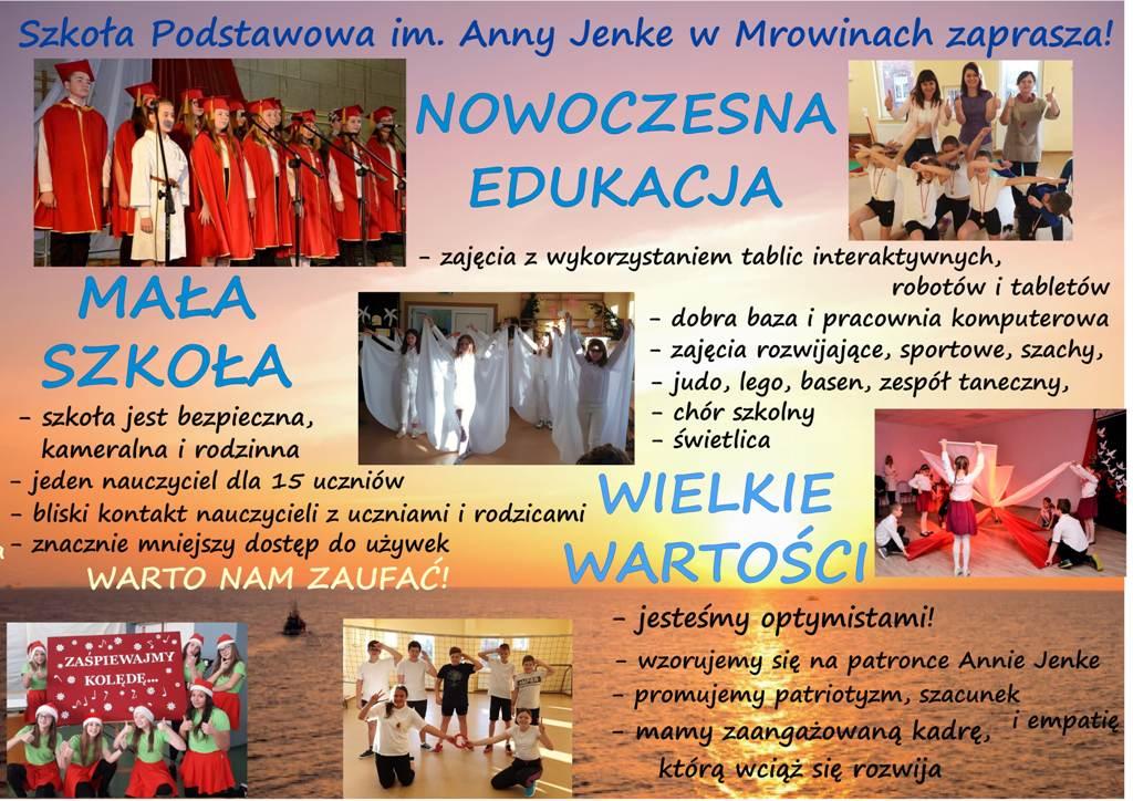 Nasza szkoła czeka na Twoje dziecko :)